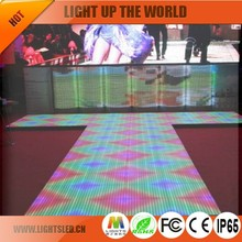 Make LED Dance Floor LED Indoor Display,Interactive P7.62 Floor Projection System