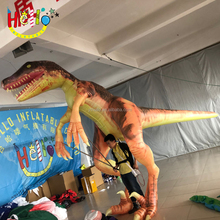 Customized Walking costumes Inflatable Dinosaur Mascot