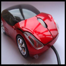 Hot Sale Computer Colour Light LED Mouse Cute Cartoon Car Mouse For Custom Promotion Gift
