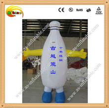 Attractive and good quality inflatable moving cartoon body inflation for advertising
