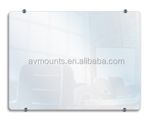 High Quality Standard Size 6mm Tempered Glass Govement Use Conference Room Transparent Erasable Glass Notice Board