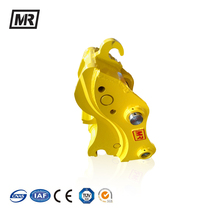 Excavator bobcat hydraulic quick coupler for mini hammers
