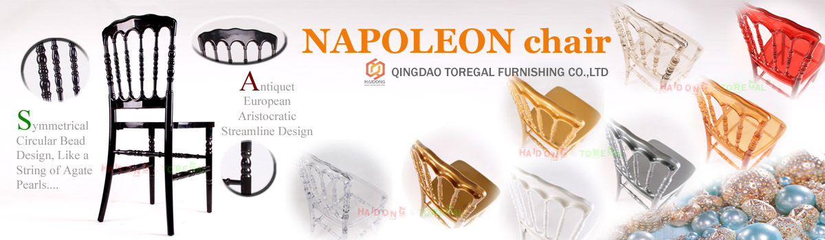 Events Rental Resin Napoleon Banquet Chair