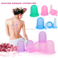 Medical Silicone Therapy Massage Vacuum Cupping Cups Hijama Cupping Set HA01633