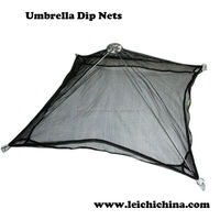 Chinese umbrella fishing dip nets