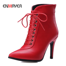 2017 new style sexy ankle boots elegant autumn and winter lady high heel ankle boots