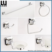 Customized ZInc Alloy Chrome Finishing Wall-Mounted Bathroom Accessories Set