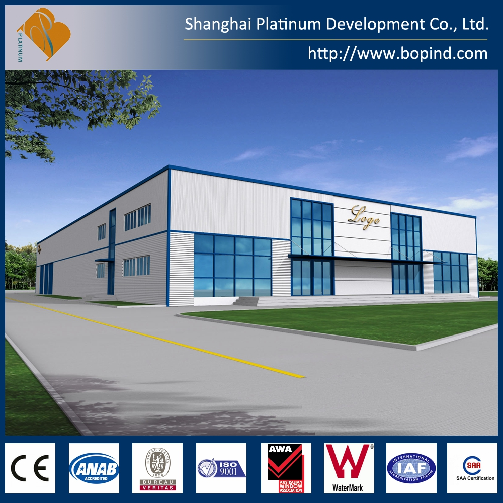 Light Prefab Construction Steel Structure Warehouse for Chicken Family with Good Corrosion
