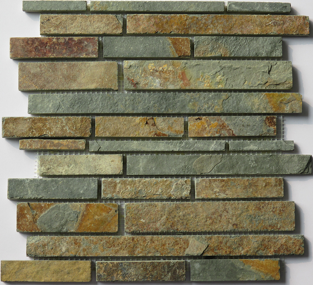 Home Depot natural slate mosaic marble flooring border designs