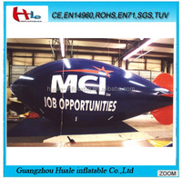 Inflatable airplane,inflatable blimp,inflatable advertising airship