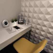 Dongguan decorative PVC 3D Board / 3D wall panel from China