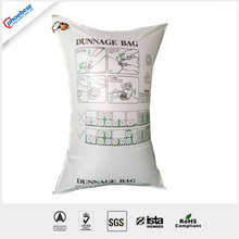 black pp woven dunnage bag