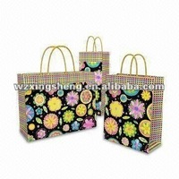 small order Free samples grape packaging bag 2013 high quality fashion paper bag