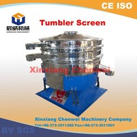 China CE CWYS fiber coconut oil vibrating screen sieve filter machine