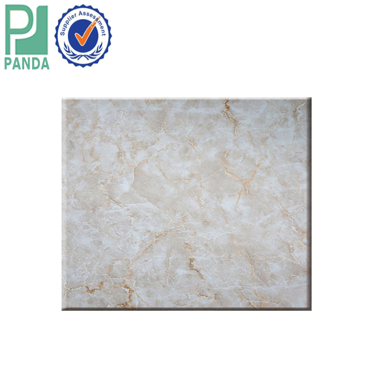 LC Payment Manufacture Decorative Wall Panels Laminated PVC Marble <strong>Sheet</strong>