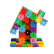 Snowflake Block Buckle Bricks Plastic Building Blocks DIY Assembling Educational Toy For Kids