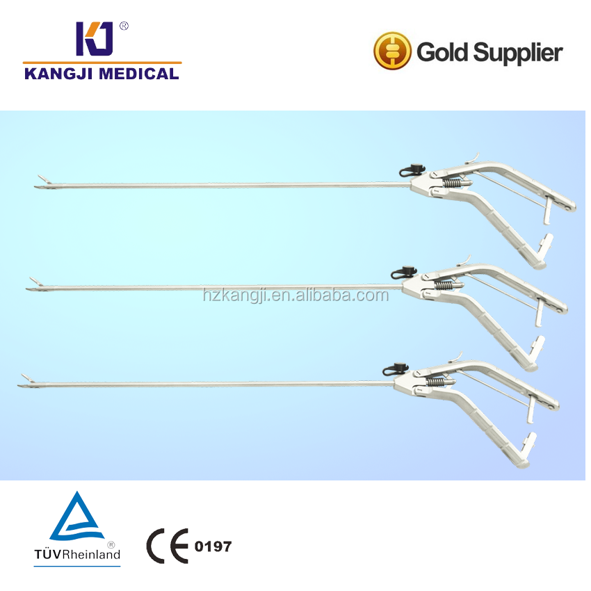 Surgical Gun shape needle holder forceps / Medical needle holder straight right left curved