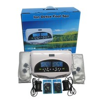 dual cell spa foot bath with FIR belt new spa with TENS massage therapy