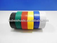 0.13mm thick water proof pvc electrical tape colorful PVC pipe wrapping adhesive tape, ROHS approval