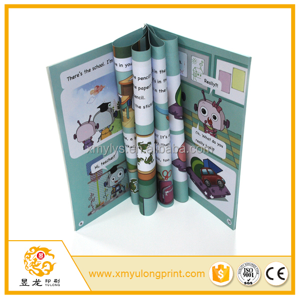colorful CMYK offset printing perfect binding cheap high quality manga book printing