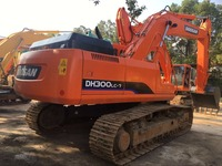 Original used construction machinery DOOSAN DH300LC-7 Excavator for sale