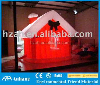 Outdoor Xmas House/Christmas House/Inflatable Xmas House with Light