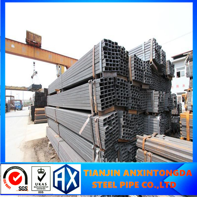 astm a53m galvanized square tube heavy gauge steel pipes
