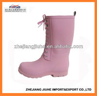 New Design Rubber Rain Boots for women