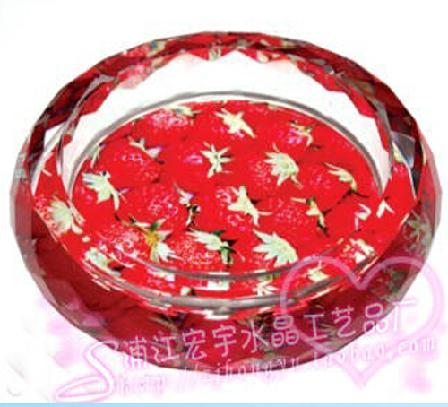 2016 hot antique colored glass ashtrays HYA-116 wholesale
