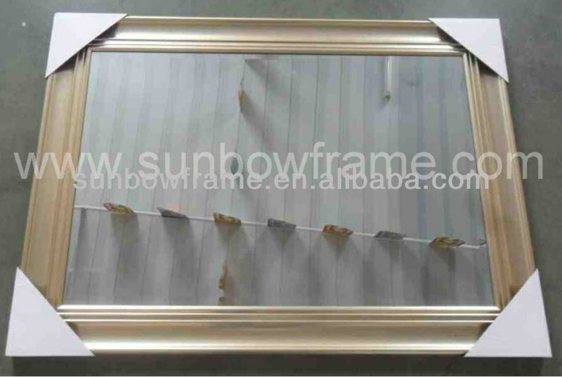 "24x36"" Plastic BV Mirror frame/Main product hot sale product-Mirror/Champagne Westley Mirror"