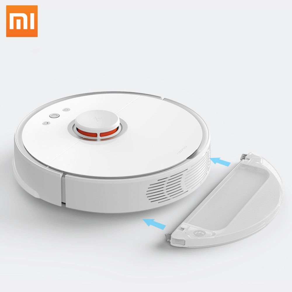 Global Version XIAOMI Roborock S50 MI Robot Vacuum <strong>Cleaner</strong> for Home Automatic Sweeping Dust Sterilize Mobile Remote Control