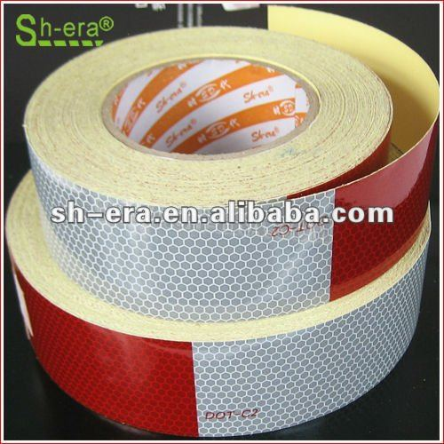 Color reflective safety ribbon tape