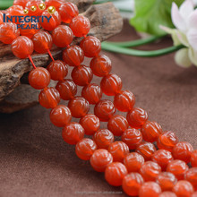 8mm 10mm 12mm natural rose carving jasper red agate stone, red agate beads