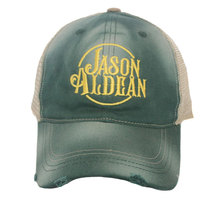Wholesale custom trucker cap distressed visor mesh cap