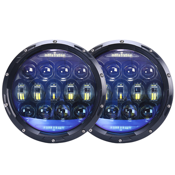 Special lens 130W 7 inch White angle eye led headlight for jeep wrangler jk