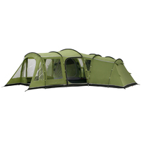 Double layers waterproof primary tunnel camping tent for camping hiking