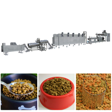 pe fish food production line equipment