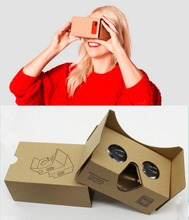 Google Cardboard,3D VR Virtual Reality DIY VR Headset For 3D Movies and Games Compatible with Android & Apply to Smartphone
