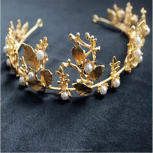 New hottest sale beauty queen gold crowns