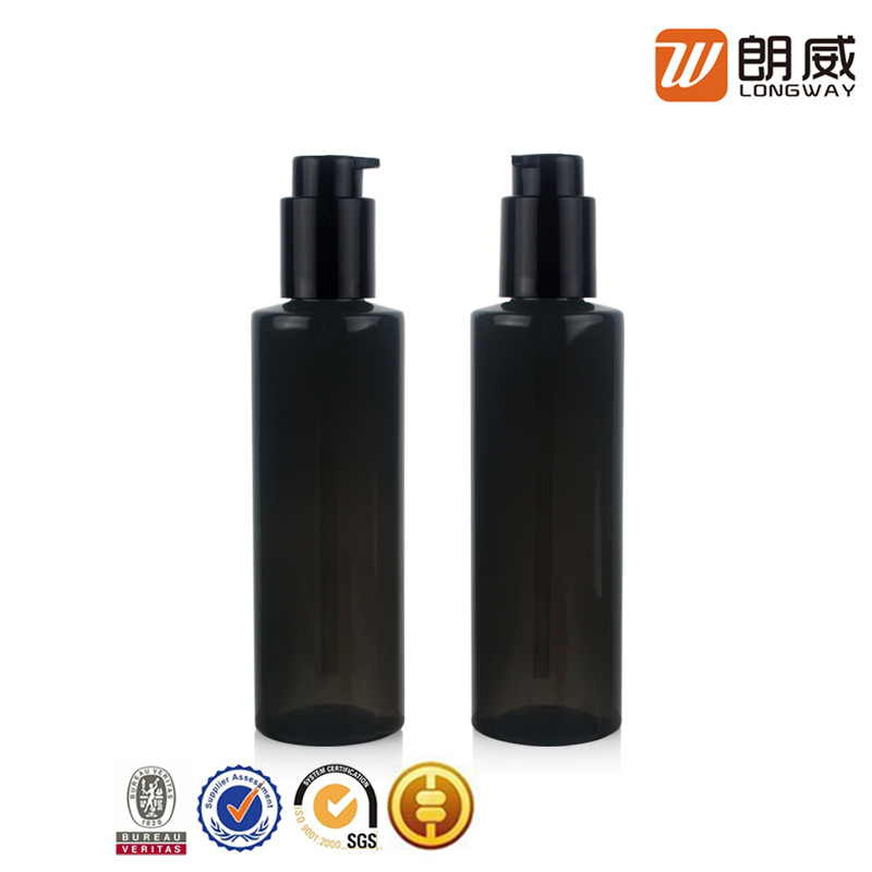 yuyao chenfei liquid dark brown foundation plastic pet shower gel bottle