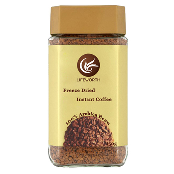 100% natural instan coffee freeze dried instant coffee