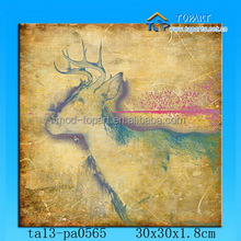 2014 pop product canvas panting for animal