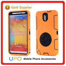 [UPO] ring Central King silicone + pc drop proof shock proof phone case for note 3