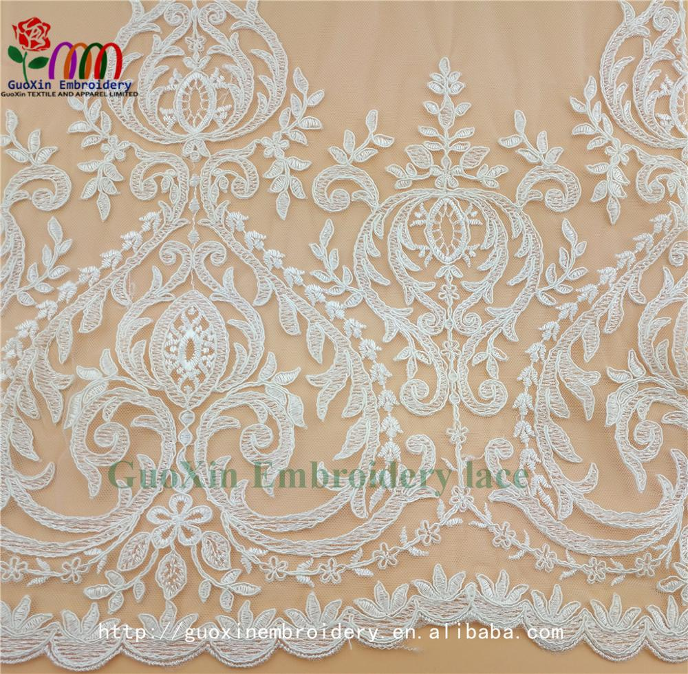 aliexpress pretty french lace embroidery lace fabric with cording