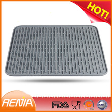 RENJIA kitchen dish drying mat how to clean a dish drying mat large sink mats with drain hole