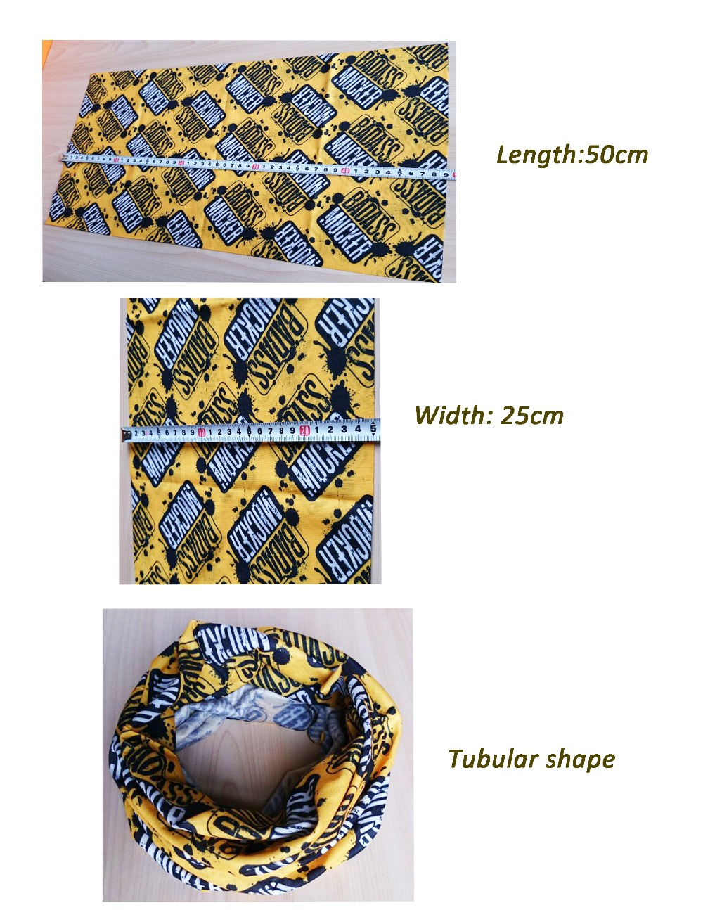 Yiwu Factory Wholesale Microfiber polyester Tube Men's Bandana