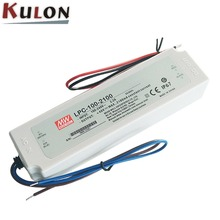 Meanwell LPC-100-2100 IP67 rated current 2100mA 100W LED driver