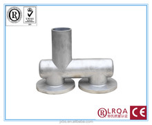 investment cast manufacturer costmize alloy steel press pipe fitting stainless steel tube fitting
