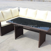 Cheap Rattan Wicker Lounge Sofa Dining