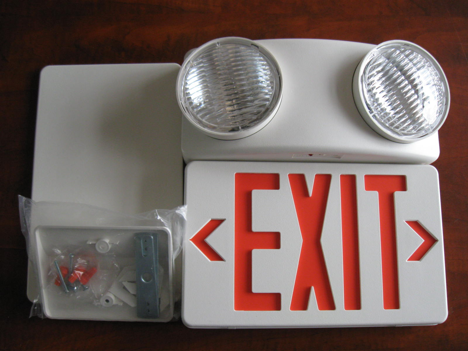 UL SALIDA COMBO emergency exit sign light